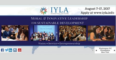 The International Young Leaders Assembly (IYLA) 2017 in USA