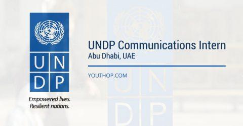 UNDP Communications Internship Program 2017 in Abu Dhabi, UAE