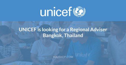 UNICEF Regional Adviser in Bangkok, Thailand
