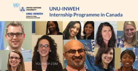 UNU-INWEH Internship Programme 2017 in Canada