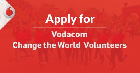 Apply for The Vodacom Change the World Volunteer Programme 2017