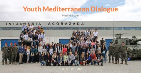 Youth Mediterranean Dialogue 2017 in Madrid, Spain