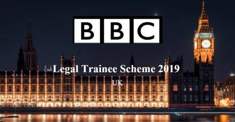 BBC Legal Trainee Scheme 2019 at UK
