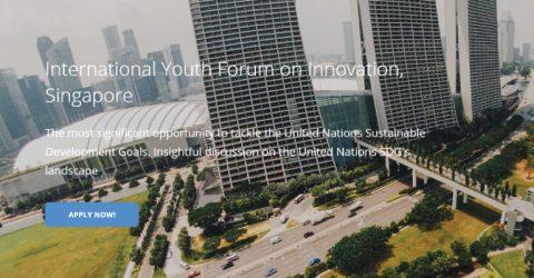 International Youth Forum on Innovation (IYFI) 2017 in Singapore