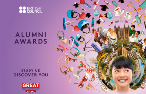 Apply for the UK Alumni Awards 2017-18