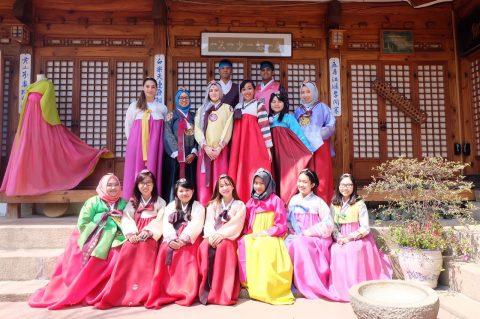 AYFN Korea Cultural Camp (Autumn) 2017 in Seoul, Korea