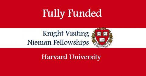 Harvard University: Knight Visiting Nieman Fellowships 2018 in U.S.A.