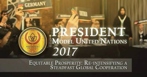 President Model United Nations 2017 in Indonesia