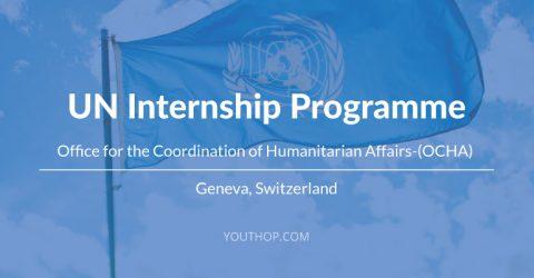 UN Internship at Humanitarian Affairs 2017 in Geneva, Switzerland