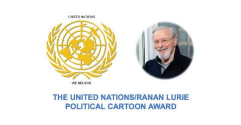 United Nations/ Ranan Lurie Political Cartoon Awards 2017, USA
