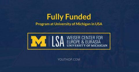 Weiser Professional Development Fellowship 2018 in USA