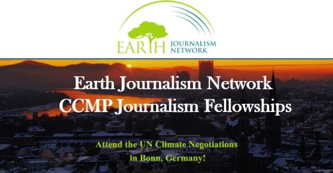 Earth Journalism Network's CCMP Journalism Fellowships