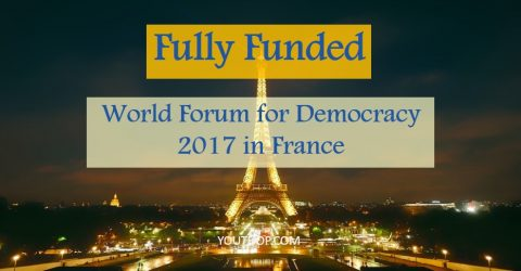Fully Funded: World Forum for Democracy 2017 in France