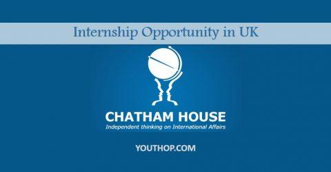 Chatham House Africa Programme Internship 2017 – London, UK