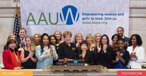 AAUW's International Fellowship program 2017