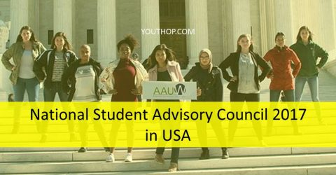 National Student Advisory Council 2017 by AAUW in USA