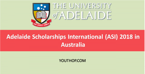Adelaide Scholarships International (ASI) 2018 in Australia