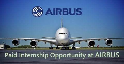 Paid Internship Opportunity 2017 at AIRBUS