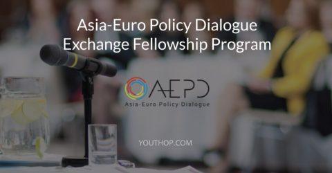 Asia-Euro Policy Dialogue Fellowship Program 2017