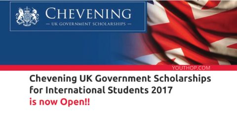 British Chevening Scholarship for International Student 2017, UK