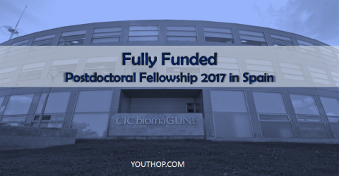 CIC biomaGUNE's Fully Funded Postdoctoral Fellowship 2017 in Spain