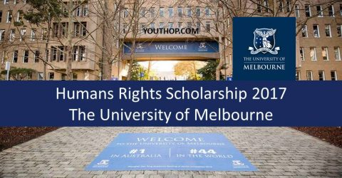 Humans Rights Scholarship by The University of Melbourne in 2017