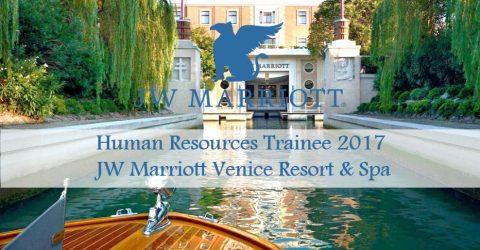Human Resources Trainee 2017 – JW Marriott Venice Resort & Spa