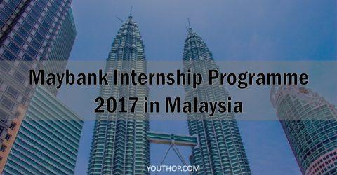 Maybank Internship Programme 2017 in Malaysia