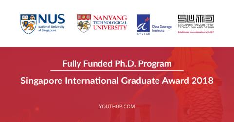 Singapore International Graduate Award 2018 in Singapore