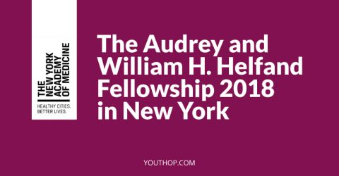 The Audrey and William H. Helfand Fellowship 2018 in New York