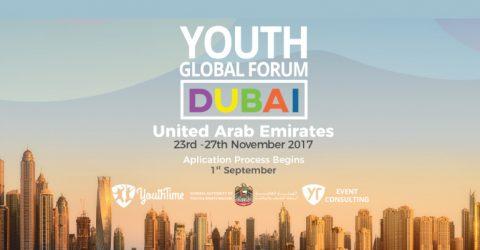 The Global Youth Forum 2017 in Dubai, UAE