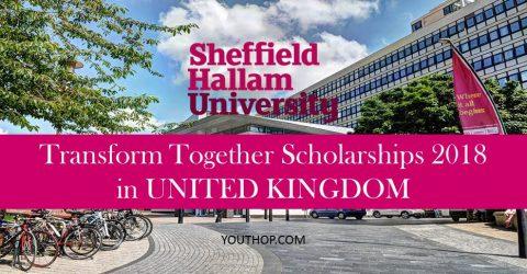 Transform Together Scholarships 2018 in UK
