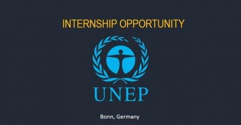 Public Information/Social Media Intern: United Nations Environment Programme