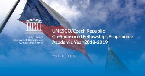 UNESCO/Czech Republic Co-Sponsored Fellowships Programme, 2018-2019