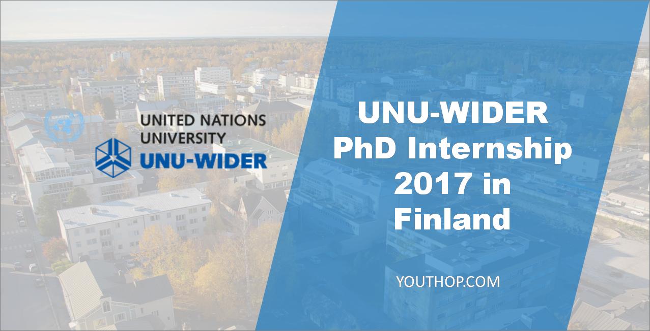 Internship In Finland