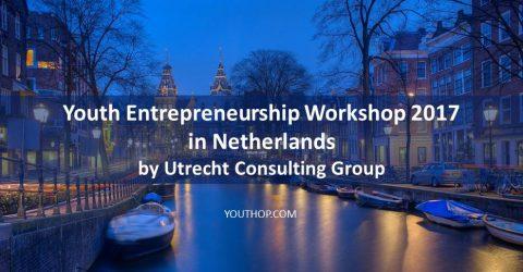 Youth Entrepreneurship Workshop 2017 in Netherlands