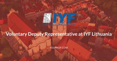 Part Time Volunteering- Deputy Representative at IYF, Lithuania