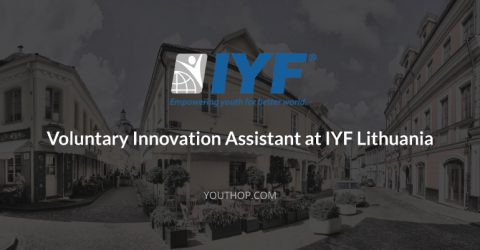 Part Time Volunteering- Innovation Assistant at IYF, Lithuania
