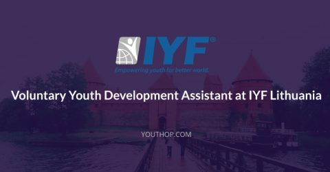 Part Time Volunteering- Youth Development Assistant at IYF, Lithuania