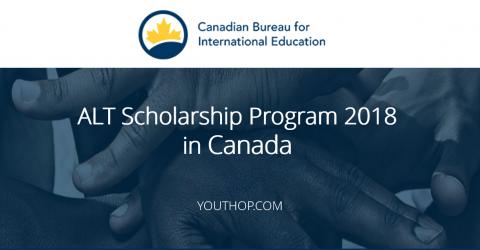 ALT Scholarship Program 2018 in Canada