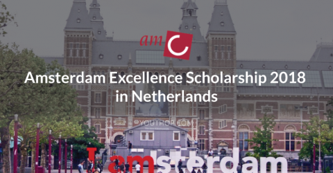 Amsterdam Excellence Scholarship 2018 in Netherlands