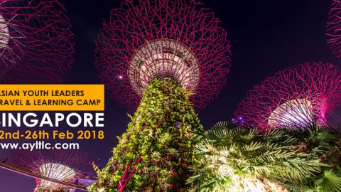 Asian Youth Leaders Travel and Learning Camp 2018 in Singapore
