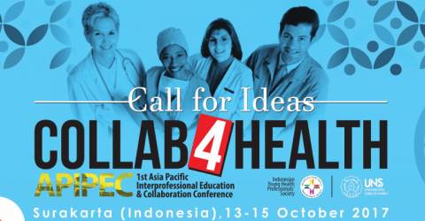 """Call for Ideas at the """"Collab4Health""""-1st APIPEC Conference in Indonesia"""