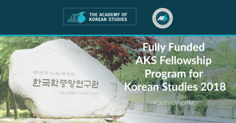 Fully Funded AKS Fellowship Program for Korean Studies 2018