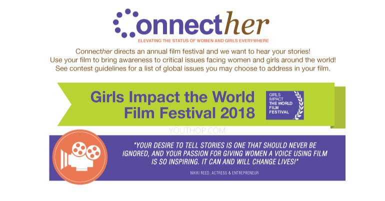 Girls impact the world film festival 2018 youth opportunities sciox Gallery
