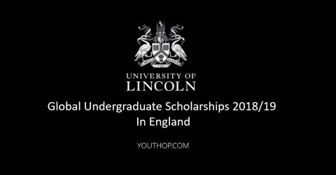 Global Undergraduate Scholarships 2018/19 in UK