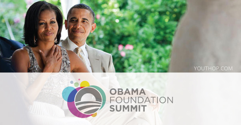 Image result for picture of obama foundation summit logo