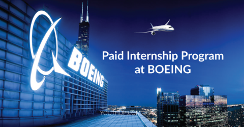 Paid Internship Program at BOEING