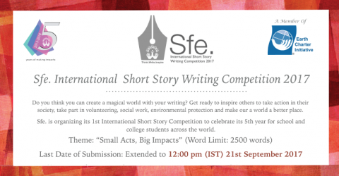 Sfe. International Short Story Competition 2017