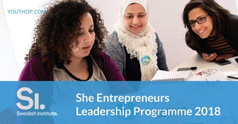 She Entrepreneurs Leadership Programme 2018 in Sweden